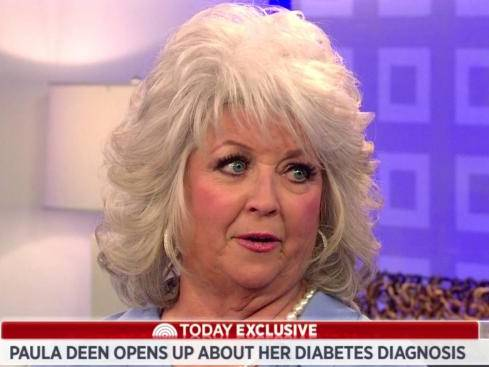 paula Deen chef diabetes