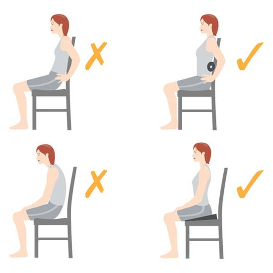 Good Posture for your back