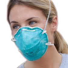 Wear the N95 mask to eliminate haze particles