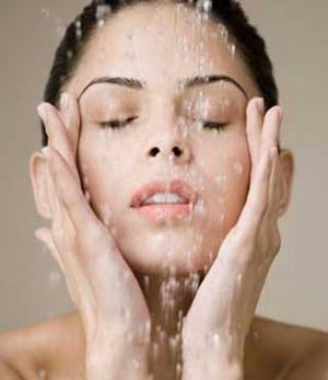 Good face hygiene. It's not just soap and water