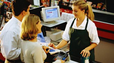 Cashiers may absorb chemical