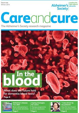 Care and Cure magazine from Alzheimer's Society