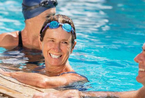 Swimming as solution for back pain