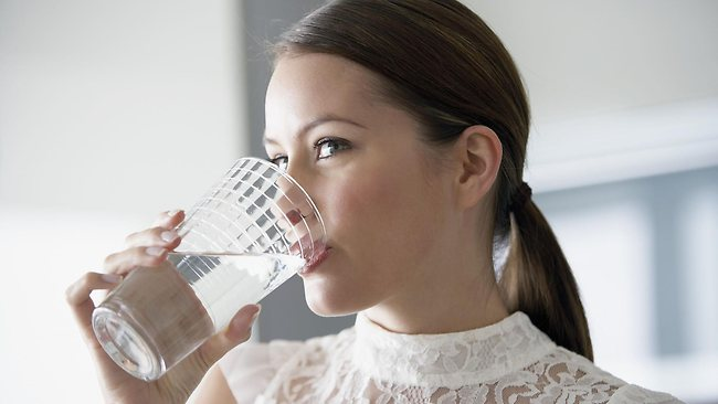 Drinking water is great for your skin