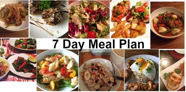 7 Days Meal Plan That Cost Just 400 Calories at Max
