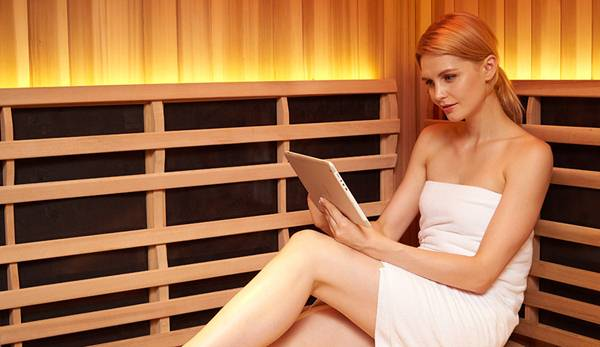 Infographic : how infrared saunas can help you get fit