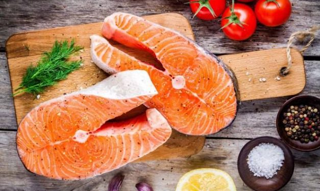 Just two portions of fish a week can cancel out all your junk food